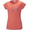 Millet W's Blanca Peak Wool T-Shirt SS Hot Coral